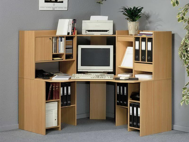 Best designs for an office desk for Home office corner desk ideas