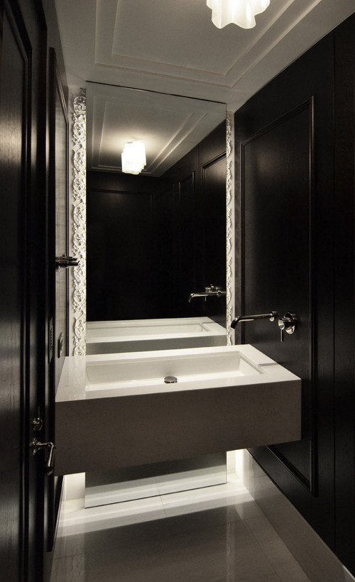 Floating Vanity Powder Room