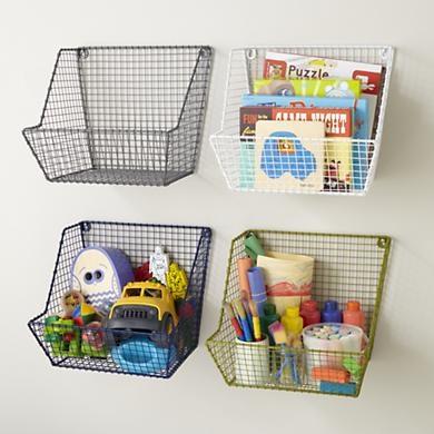 Small Space Kids Room Storage Bins