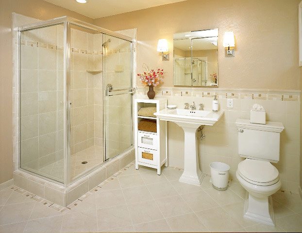 Fantastic Small White Bathroom