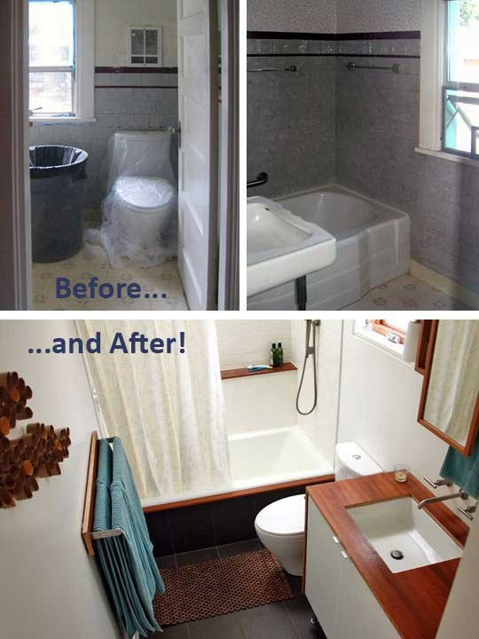 Sleek and Clean Renovated Bathroom