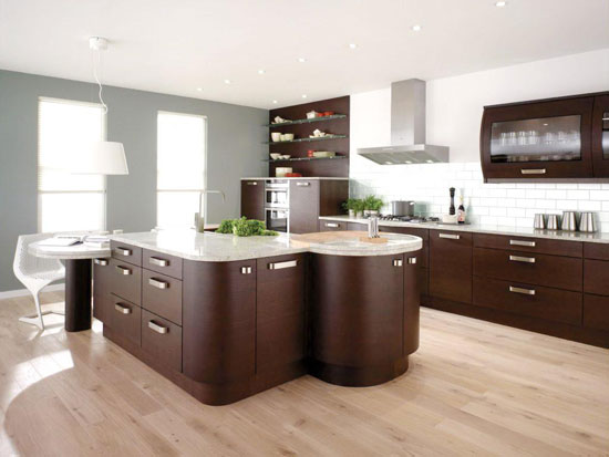 Wonderful island kitchen designs for modern kitchens for Kitchen cabinet with island design