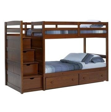 Drawer Wood Bunk Bed