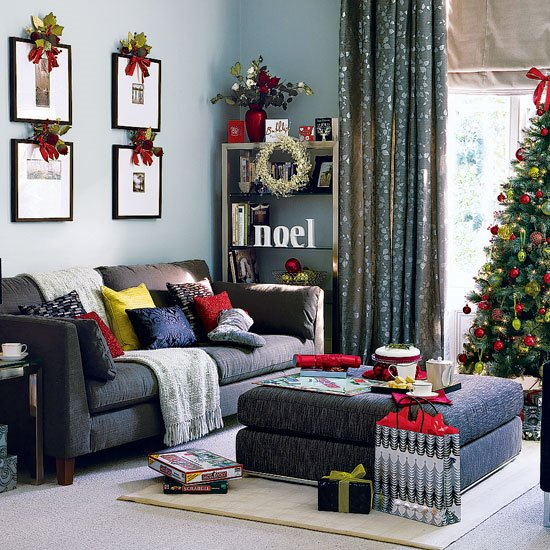 Elegant Christmas Design Living Room