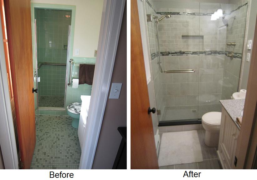 Shower and Tub Seperated