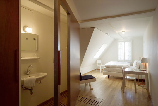Clean Small Attic Room