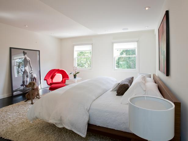 Andreas Charalambous Modern White Bedroom Dog
