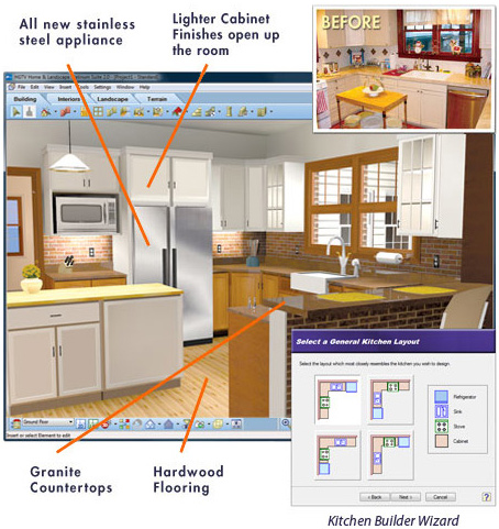 Create your own with these virtual house designs Virtual kitchen planner