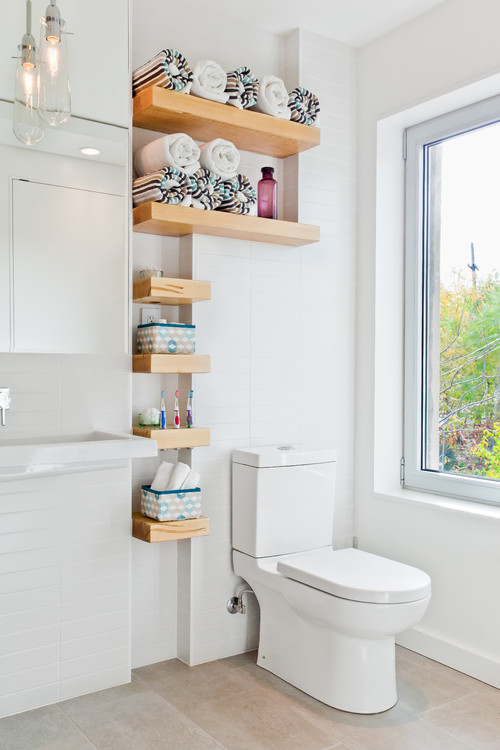 Ideas for renovating small bathrooms