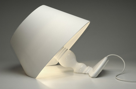 White Lamp Design