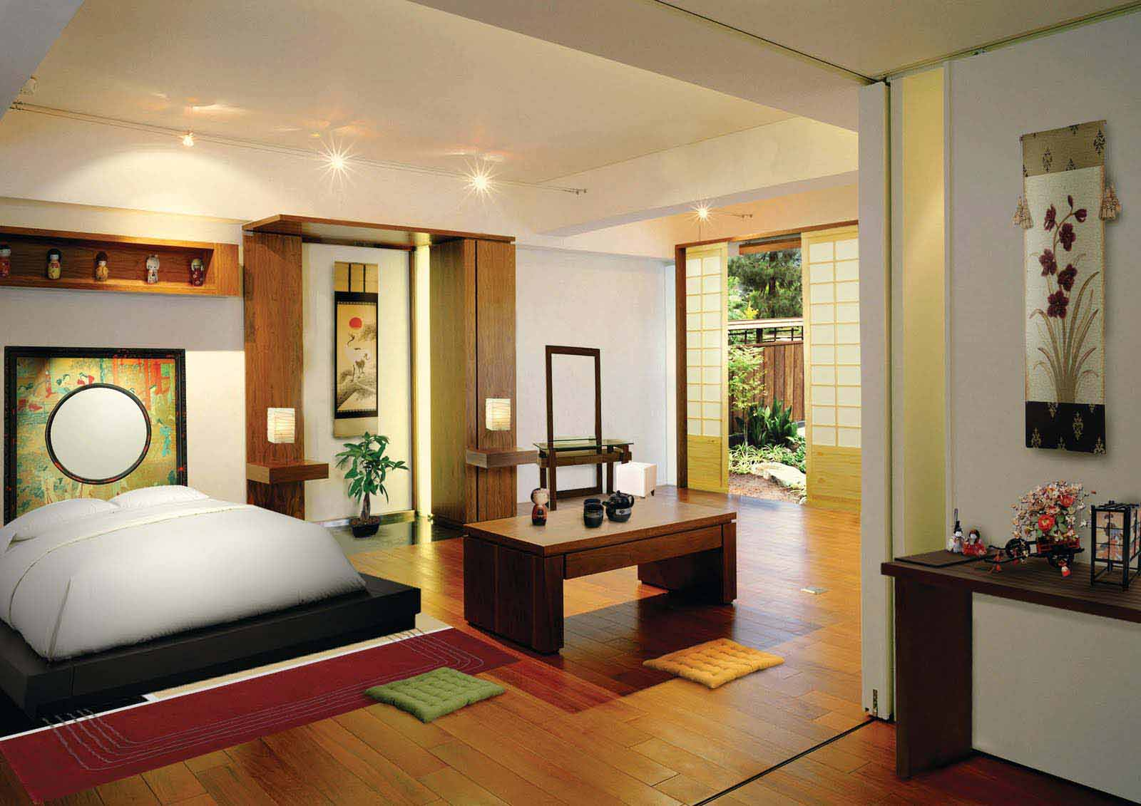 Japanese Zen Bedroom: Small Master Bedroom Ideas