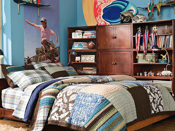Pottery Barn Teen Patchwork