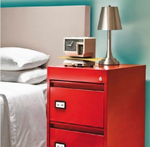 Red Night Stand
