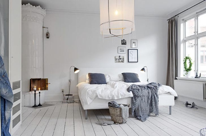 White Scandinavian Apartment