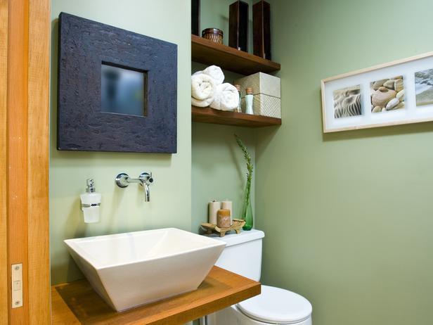 Mint Green Bathroom Refresher