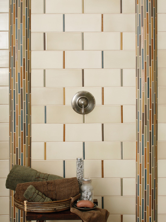 Colorful Tiles with Vertical Tile