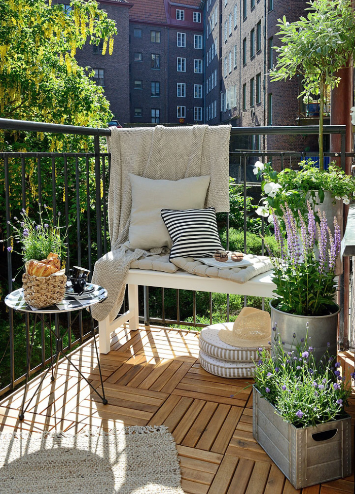 Fantastic Small Terrace