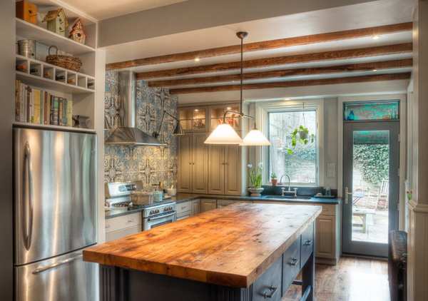 Clean and Fresh Woody Kitchen