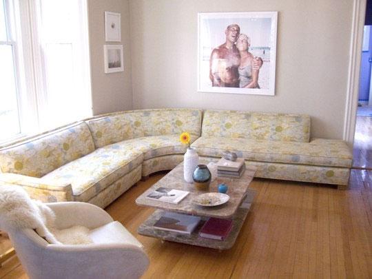 Beautiful Flower Sofa Design