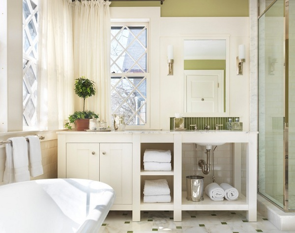 Bathroom Storage Open Shelving