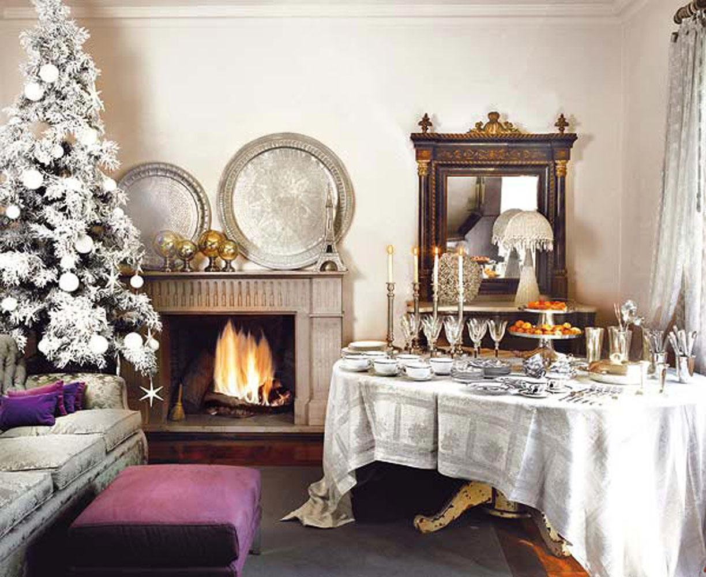 Snow Effect Christmas Tree Decoration
