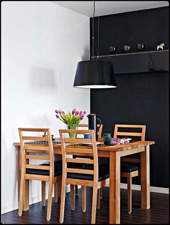 Fascinating dining table designs - Small apartment dining room ...