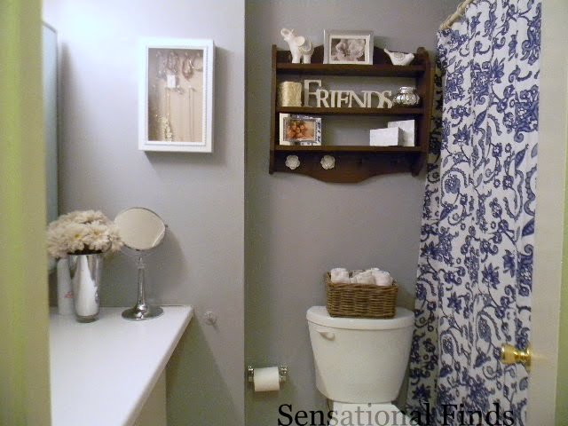 Adorable decorating designs and ideas for the small bathroom for Apartment bathroom decor