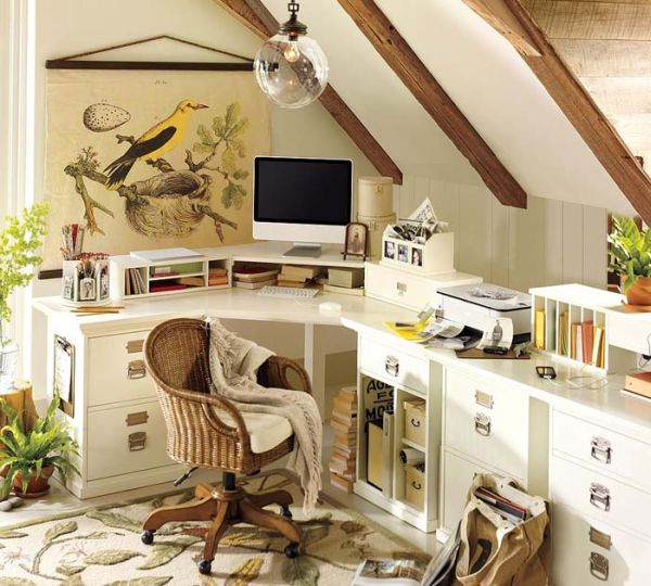 Awesome Corner White Desk