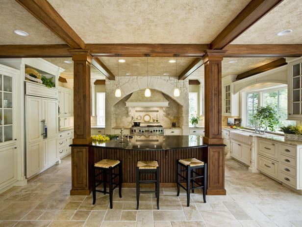 Fantastic kitchen island designs for Very large kitchen island