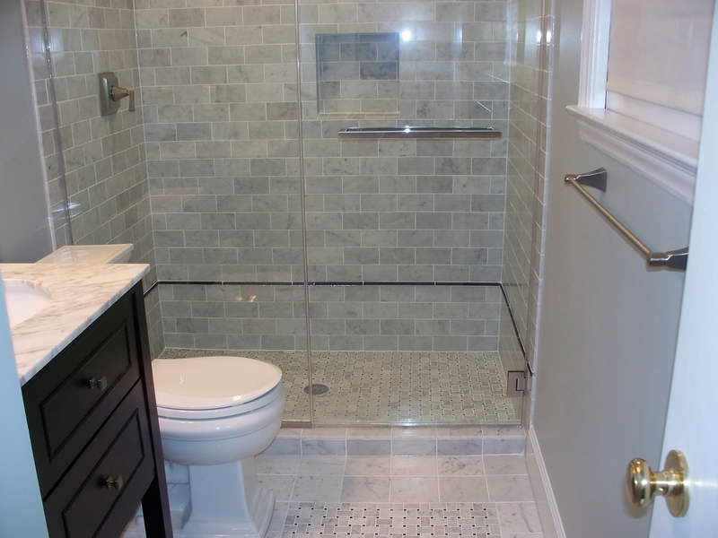 The Best Small Bathroom Design Ideas: small bathroom remodel tile