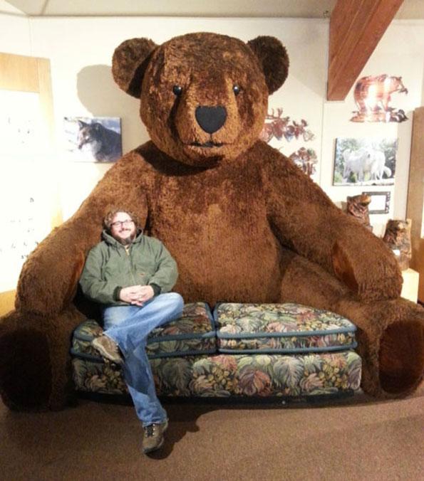Giant Teddy Bear Sofa Design