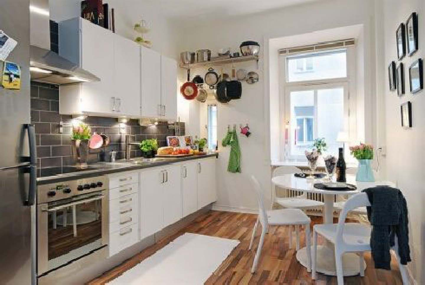 Best kitchen designs 2013 for Tiny apartment kitchen solutions