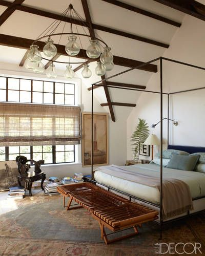 A Light-Filled Lofty Bedroom