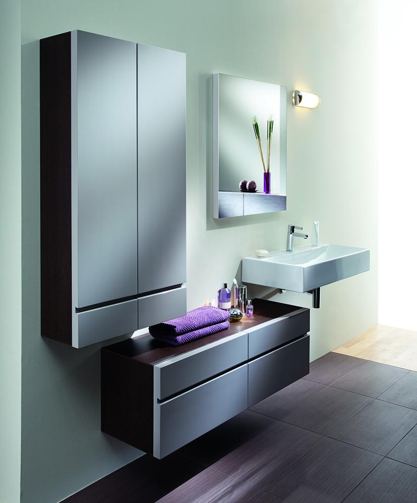 Trendy designs for the small bathroom for Trendy small bathroom designs