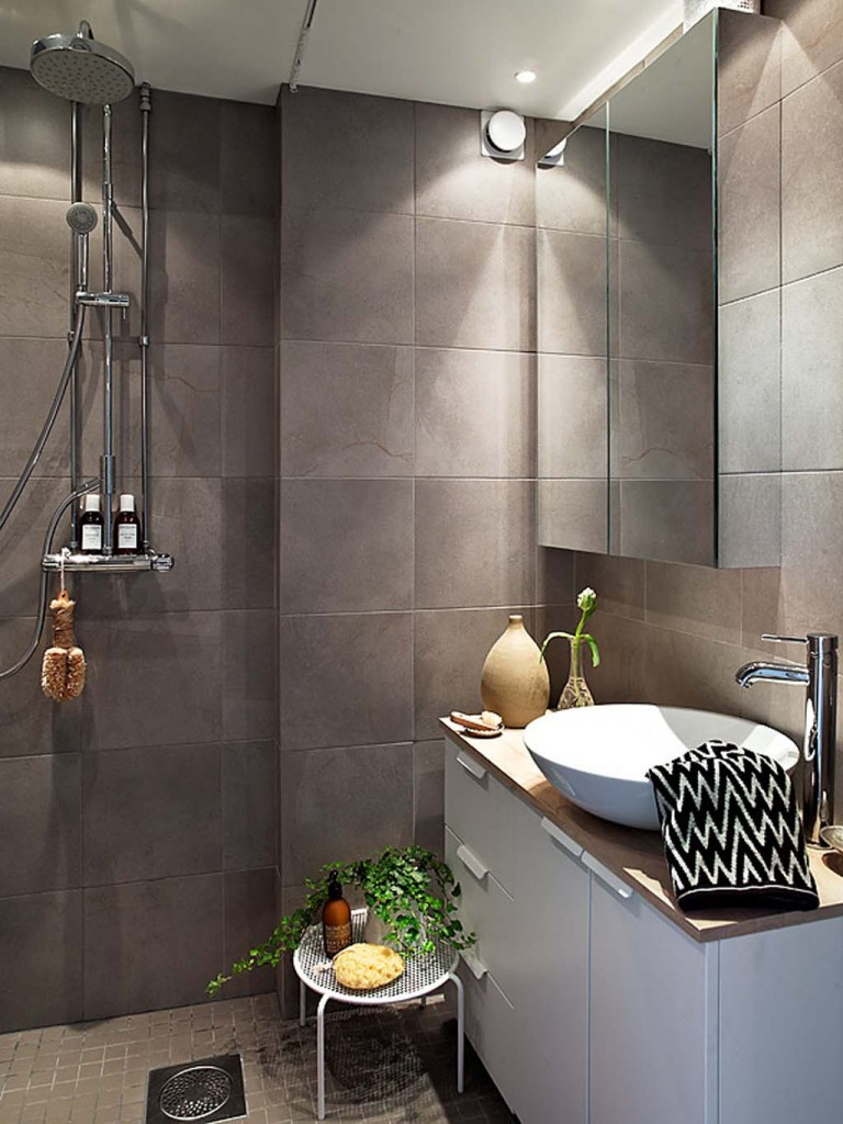 Wonderful ideas for the small bathroom - Bathroom tile ideas for small bathrooms ...