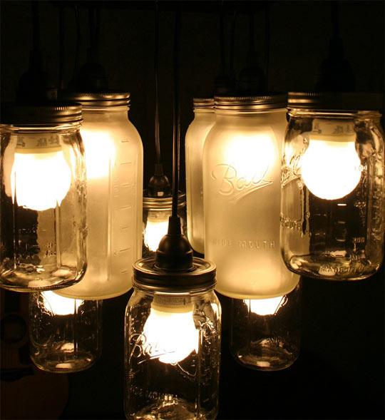 Fantastic Mason Jar Lamp