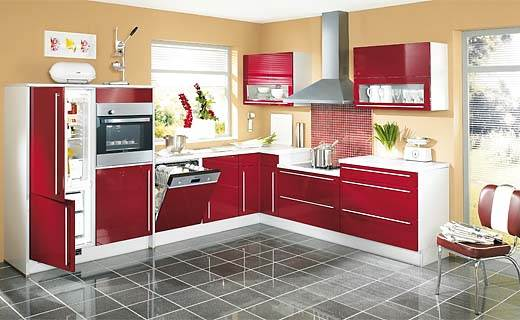 Astounding L Shaped Kitchen Ideas