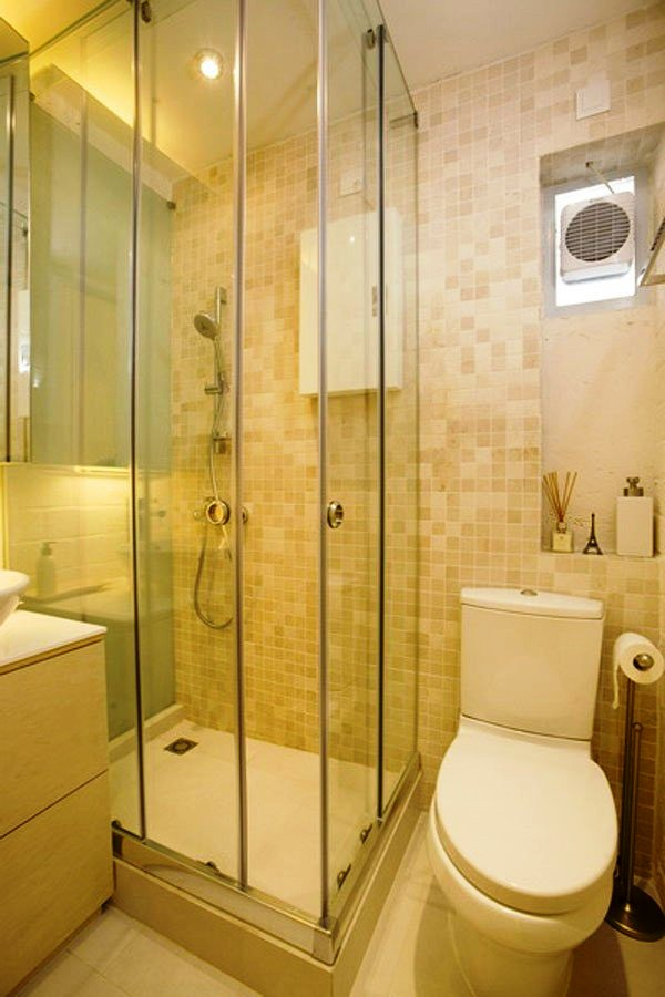 Wonderful ideas for the small bathroom for Simple small bathroom designs