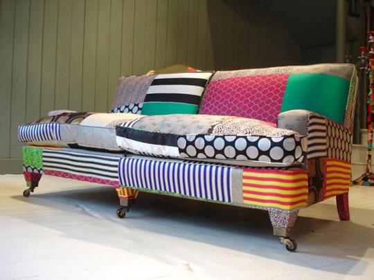 Patchwork Sofa Design