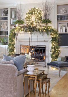 Big Green Mistletoe Decoration