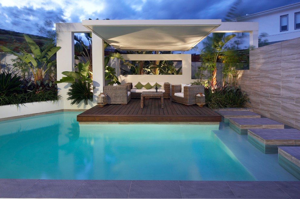 Pool side cabana designs ideas for Pool design by poolside