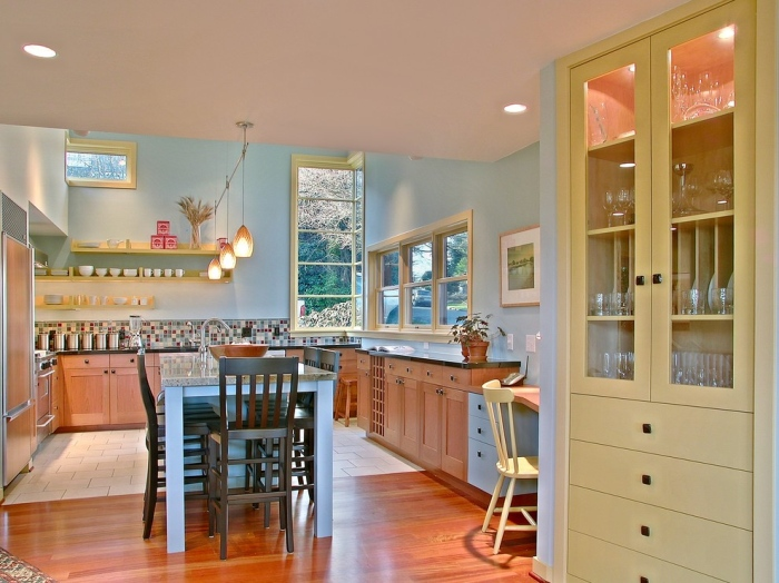 French country style kitchen pictures - Kitchen with yellow accents ...