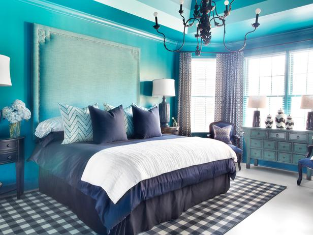 blue bedroom idea