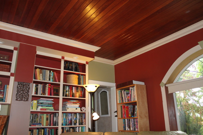 Bright Red Living Room Color Scheme