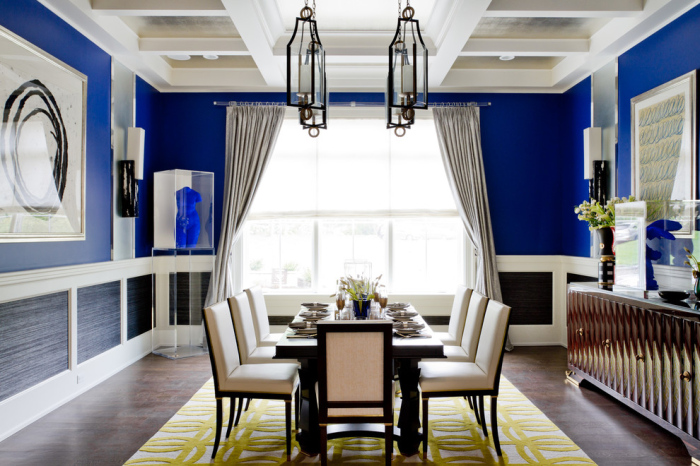 White-blue-and-grey-dining-room