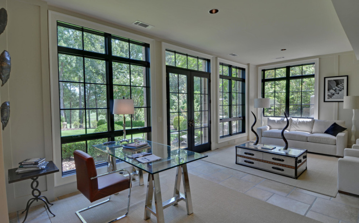 White-contemporary-home-office-image-idea-with-huge-windows