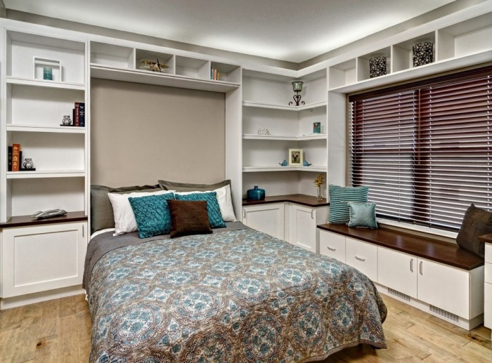 Modern-home-office-with-an-office-bed-idea