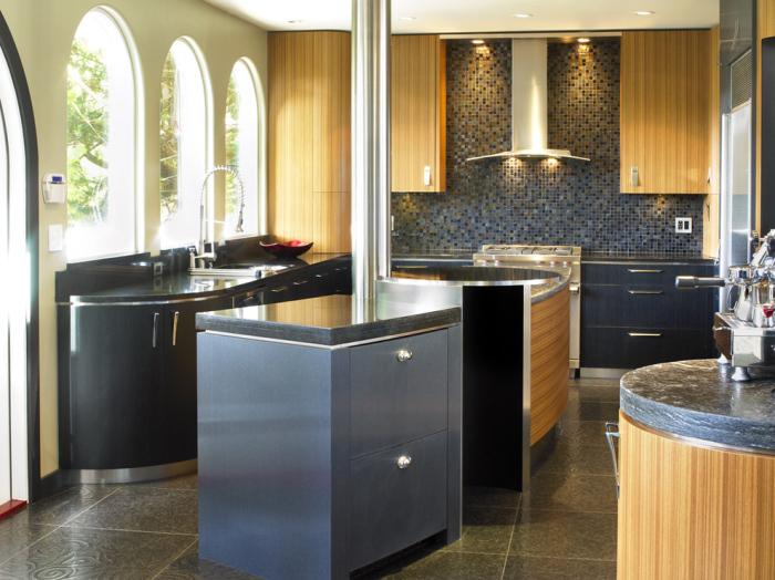10 italian kitchen work table ideas - Stylishly modern kitchen islands additional work surface ...