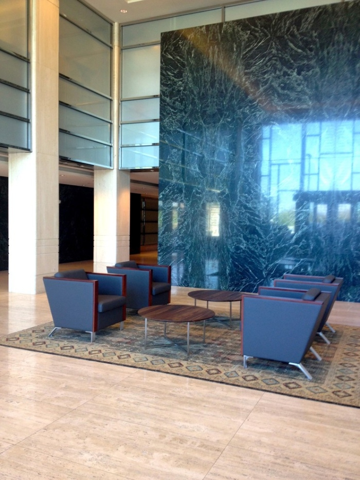 Contemporary-Spaces-with-office-lobby-decorating-idea