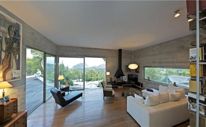 Contemporary-Living-Room-Interior-Villa-Design